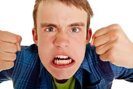 عصبانیت نوجوان