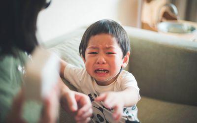 غرغر و شکایت کودکان