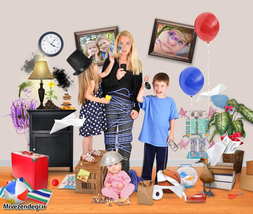 با کودکان شلوغ و پر تحرک چگونه رفتار کنیم؟(قسمت اول)