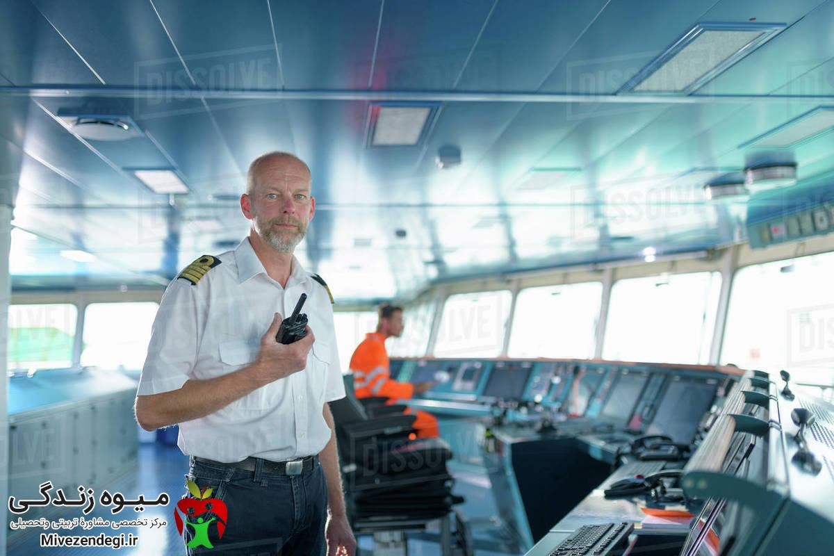 کاپیتان کشتی (دریانوردی)(شغل،رشته ها،فرصت های شغلی و بازارکار)